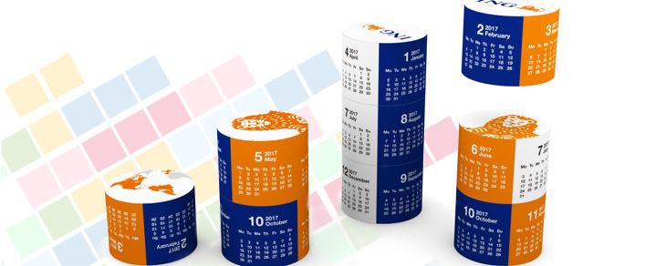 Calendar Magnetic Cilindric