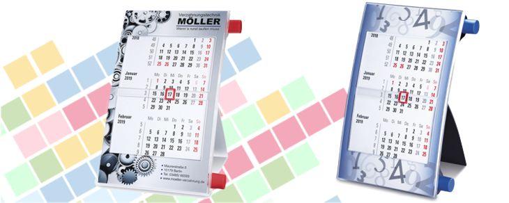 Calendar rotativ bianual